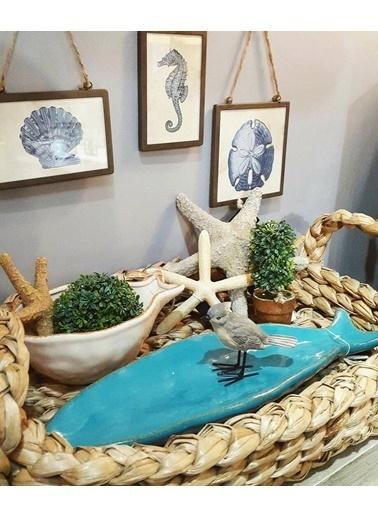 Warm Design Deniz Hayvanları Duvar Dekoru Kahve